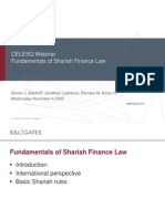 Fundamentals Shariah Finance Law