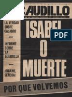 Revista El Caudillo. Buenos Aires, Nº 68, octubre, 1975, año III
