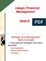 Strategic FM-Unit 5