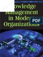 Knowledge Management in Modern Organizations