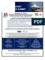 Arizona Export Compliance Summit Flyer
