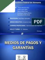 Medios de Pagos y Garantias