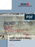 Israeli Racism in Theory and Practice