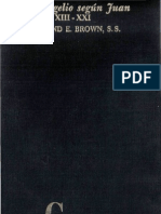 Raymond Brown - El Evangelio Segun Juan 02