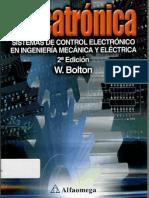 MECATRÓNICA - W. BOLTON