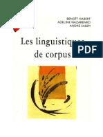 Fleury, Serge - Les Linguistiques de Corpus