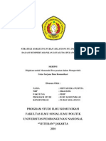 STRATEGI MARKETING PUBLIC RELATIONS PT. INDOSAT,Tbk DALAM MEMPERTAHANKAN LOYALITAS PELANGGAN IM3