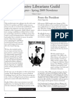 PLG UA Chapter Newsletter Volume 1 Issue 2