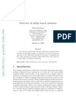 Utility-Based Valuation for Pricing Derivative Securities