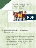 Historia de La Educacion Parvularia