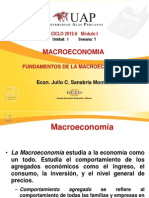 Semana 01 La Macroeconomia
