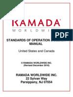 Ramada - Operation Standards