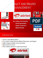 Airtel Brand Management