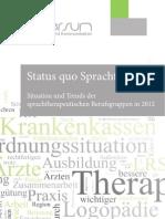 Status quo Sprachtherapie (lerniversum, Juni 2012) 60498eb9f6