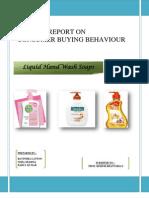 Market Research Project on Liquid Handwash