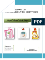 Market Research Project on Liquid Handwash