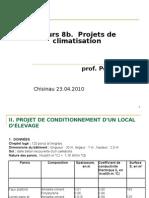 Cursul 8b. 20.04.10 Project Climatisation