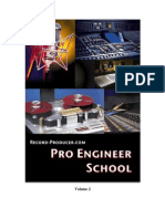 Audio Recording Pro Engineer School Vol 2