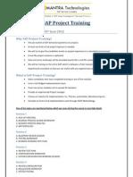 SAP Project Training V1.0