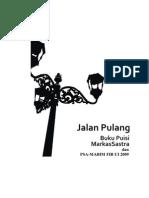 30769515 Buku Puisi Jalan Pulang