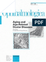 Aging and Age Related Ocular Diseases