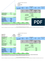 Rental Property Cash Flow Work Sheet 6400Christie