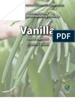 Vanilla Specialty Crop