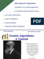 Genetic Algorithm Tutorial