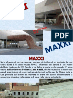 Tesi Arte Maxxi