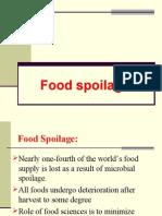 3. Food Spoilage