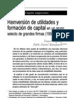 Azpiazu & Manzanelli - Reinversión de utilidades y formación de capital en un grupo de firmas 1998-2009