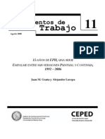 Grana, J. & Lavopa, S. - Quince años de EPH 1992-2006