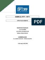 IPyPP - Sobre El Fifty-fifty. Otro Falso Debate