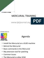 Mercurial Training