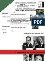 4 Maestros de La Arquitectura