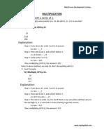 Mathematics Notes of MPDS