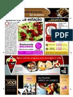 Caderno Gastronomia A Razão - 23 e 24 de junho