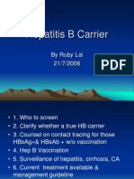 Hepatitis B Carrier