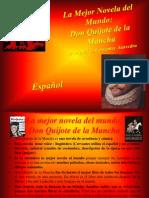 Tesi-Spagnolo-La Mejor Novela Del Mundo El Don Quijote