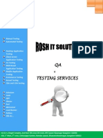 RoshIT Testing Services