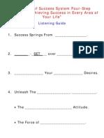 Four Step Formula