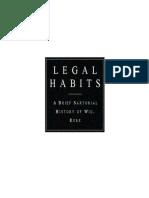 Legal Habits Book