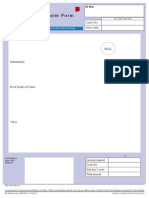 County Court Claim Form