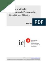 Politeia e Virtude Mario Miranda Filho