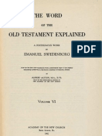 Em Swedenborg THE WORD EXPLAINED Volume VI JOSHUA JUDGES RUTH SAMUEL KINGS CHRONICLES N° 5873 6339 ANC Bryn Athyn PA 1942