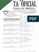 LEYES VENEZOLANAS -Gaceta 4085 -89 Regulaciones Tecnicas de Urbanismo y Construccion de Viviendas Aplicables a Desarrollo de Urbanismo Progresivo