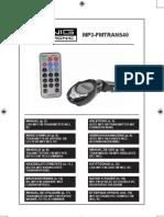 Manual Mp3-Fmtrans40 Comp