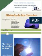 Historia de La Ciencia Investigacion