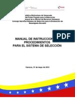 Manual Procedimientos 2012