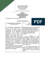 2 Cuadro Comparativo de Rosa Maria Torres y John t. Bruner